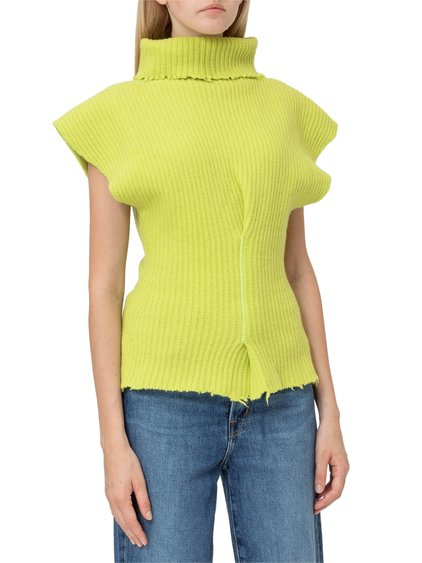 Sweater with Short Sleeves image