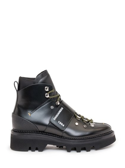Ankle Boots with Logo Band image