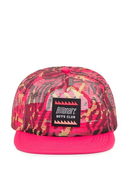 Mesh Baseball Hat with Logo image