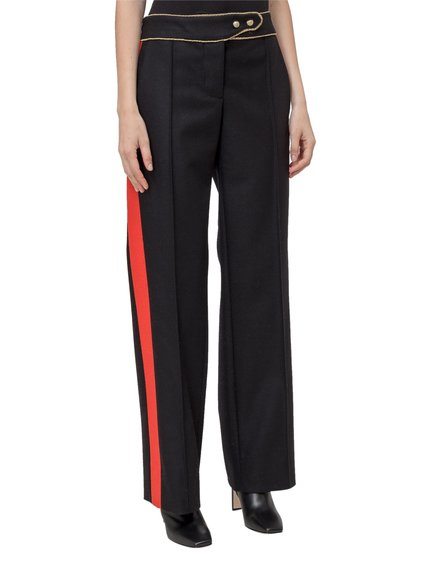 Trousers Straight image