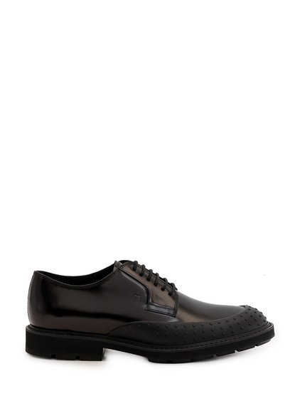 Lace-Ups Shoes with Rubber Insets image