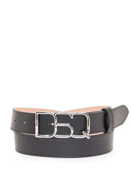 Belt with Logo Buckle image