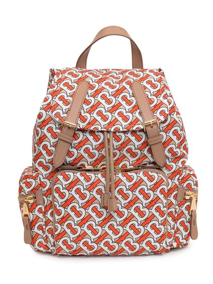 Medium The Rucksack Backpack with Monogram image