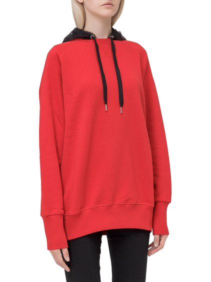 Sweatshirt with Transparent Hood image