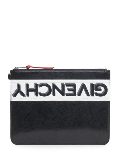 Reverse Pouch in Leather image