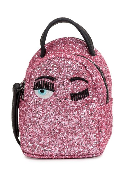 Flirting Backpack with Glitter image