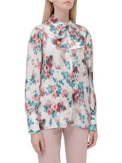 Blouse with Bow image
