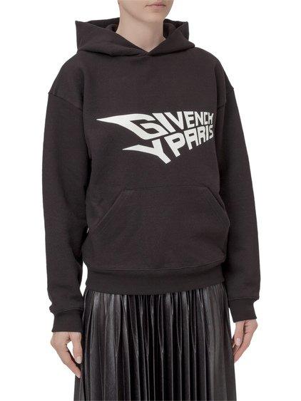 Hooded Sweatshirt with Fluorescent Logo image