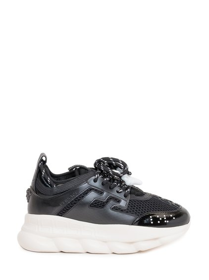 Chain Reaction Sneakers with Contrast Laces image