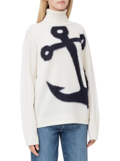 Sweater with Mock Turtleneck image
