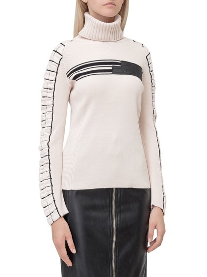 Sweater with High Collar image
