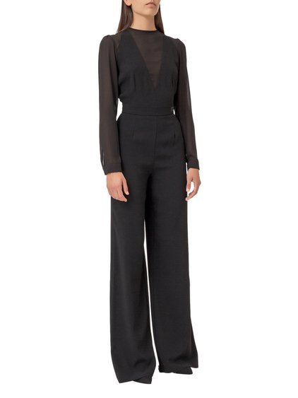 Jumpsuit with Georgette Insets image