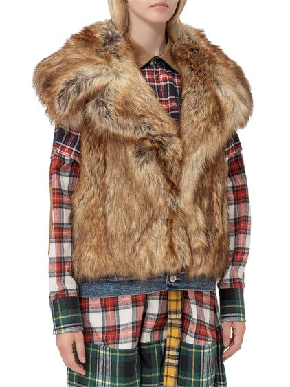 Fur Coat Gilet image