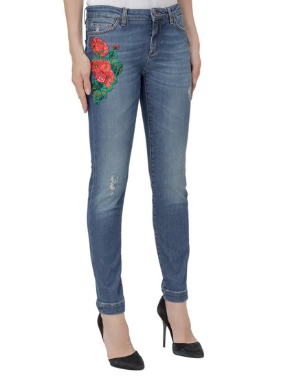 Skinny Jeans with Patches image