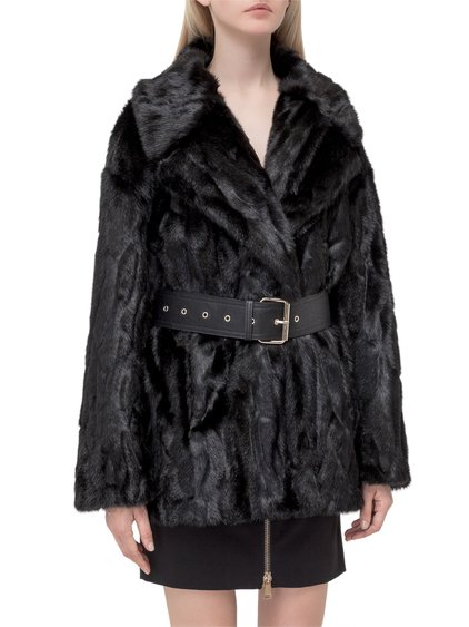 Belt Fur Coat image