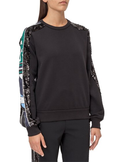 Sweatshirt with Side Band image