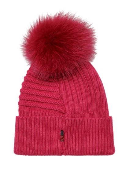 Beanie with Pompon image