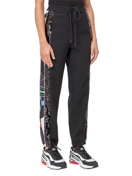 Track Pants with Side Bands image