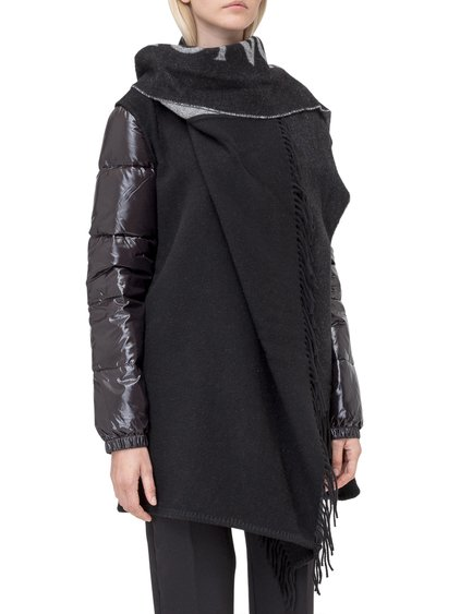 Down Jacket with Scarf image
