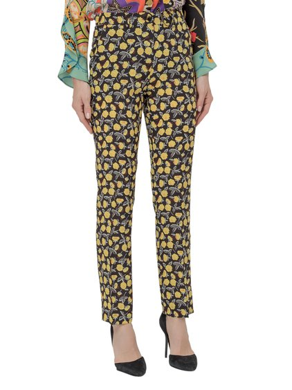 Slim Trousers with Print image