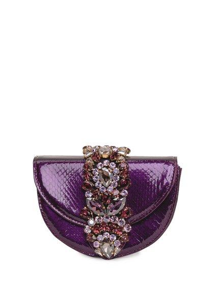 Shoulder Bag Brigitte Python Effect image