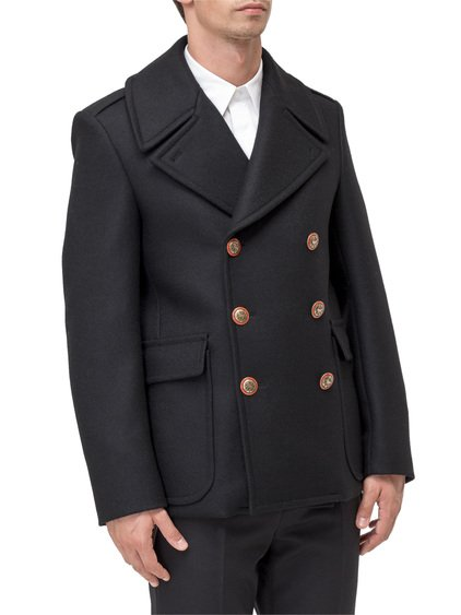 Double Breasted Coat with Buttons image