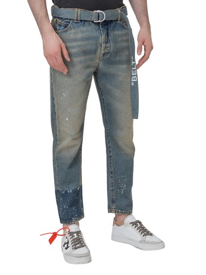 Jeans with Belt image