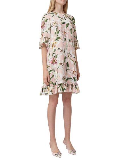 Mini Dress with Ruffles image