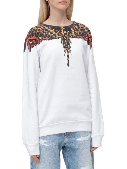 Leopard Wings Sweatshirt image