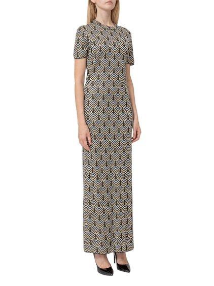 Lurex Maxi Dress image