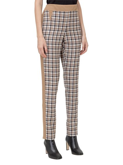 Trousers with Tartan Motif image