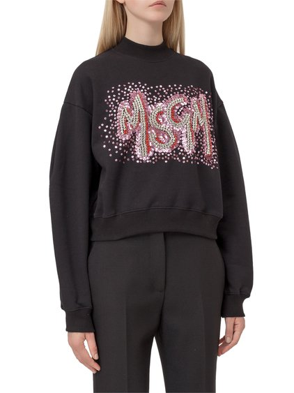 Sweatshirt with Sequins image