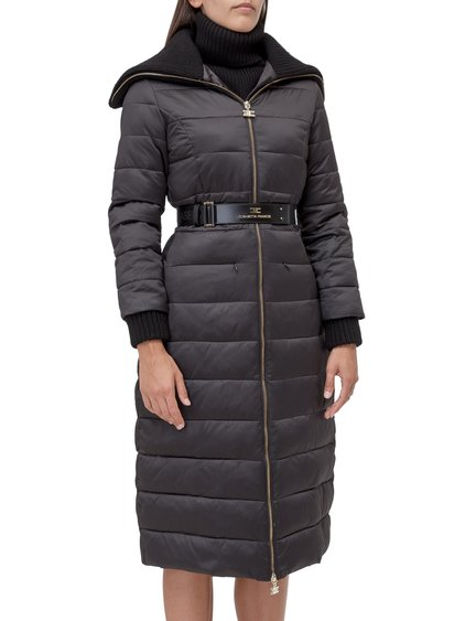 Down Jacket with Belt image