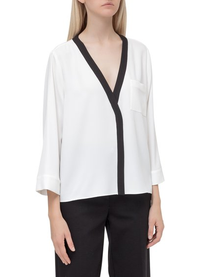 V Neck Blouse image