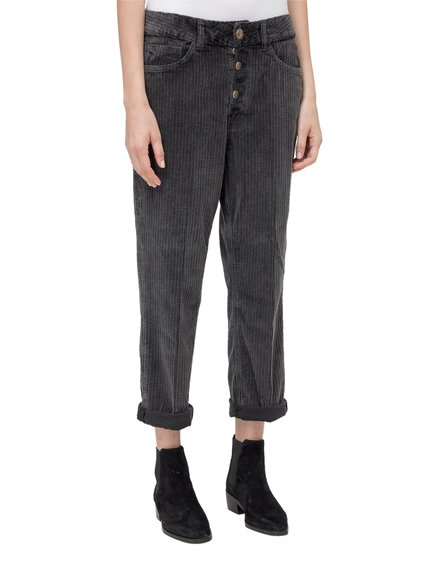 Jewel Buttons Trousers image