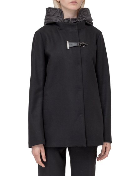 Short Parka with Padded Inner image