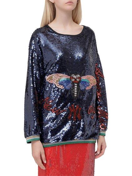 Sequins Sweatshirt image