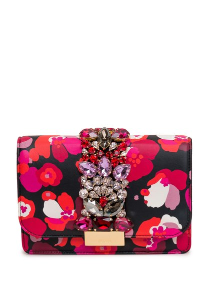 Clutch with Floral Print image