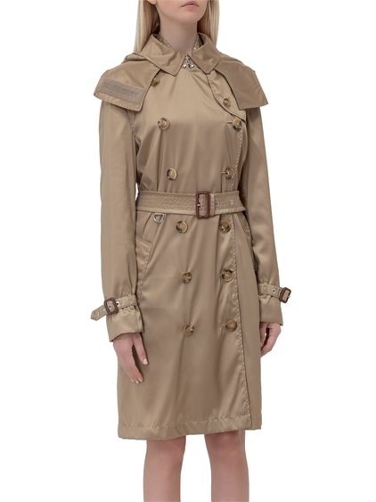 Hooded Trench Coat image