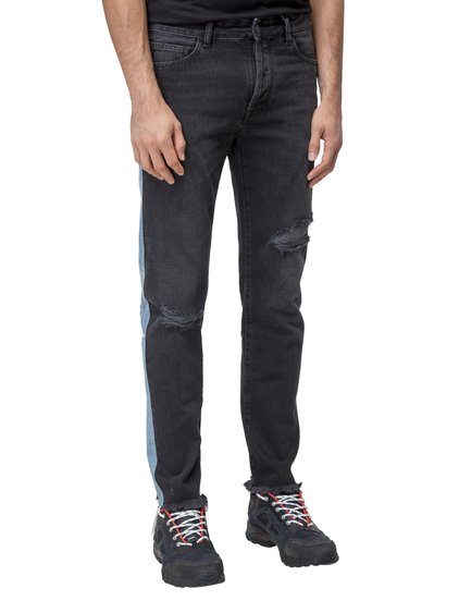 Jeans with Contrast Profiles image