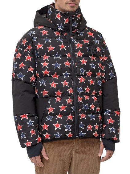 3 Moncler Grenoble Gollinger Down Jacket with Print image