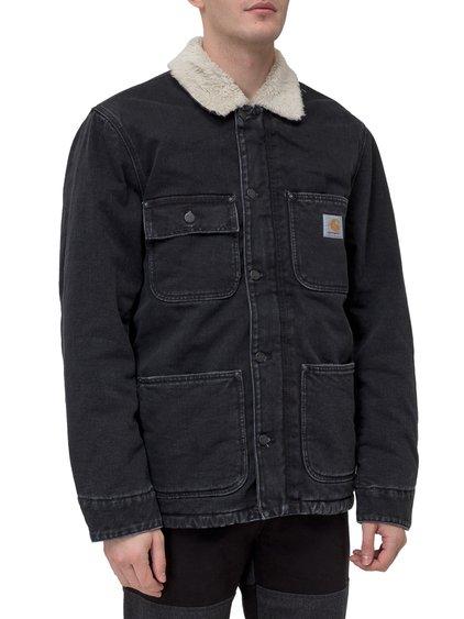Coat with Fur Collar image