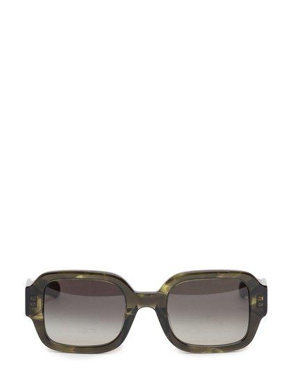 Sunglasses Tishkoff in Olive Horn image