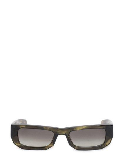 Sunglasses Bricktop Olive Horn image