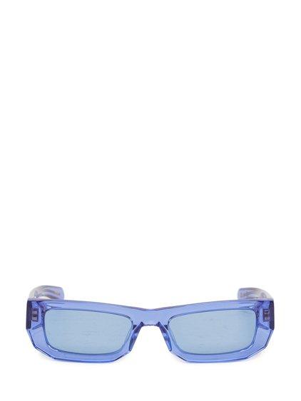 Sunglasses Bricktop in Crystal Blue image