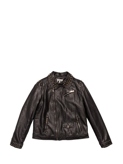 Leather Jacket with Studs image