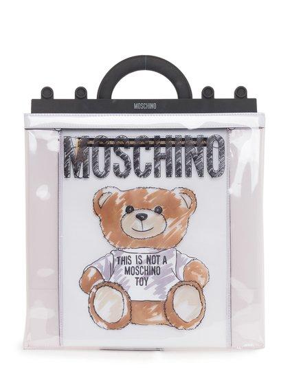 Large Teddy Brushstroke Shoulder Bag image