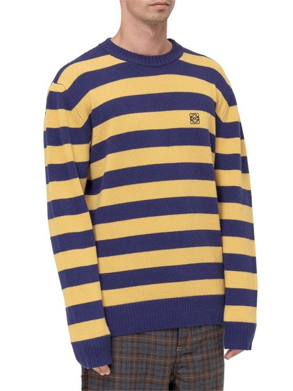 Striped Motif Sweater image