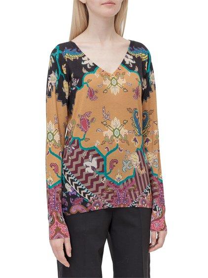 V-Shaped Neckline Sweater image