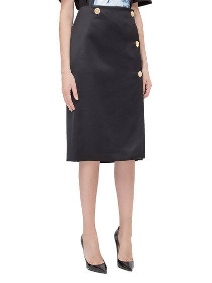 Skirt with Buttons image